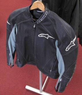 Alpine Stars TZ-1 Leather Jacket