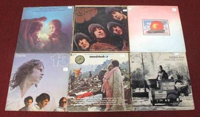 Vintage Vinyl Records (Individually Priced)