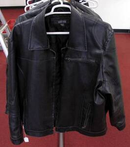 Kenneth Cole 3XL Leather Jacket
