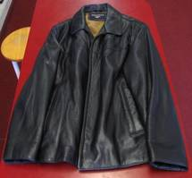 (Mens) Dockers Leather Jacket